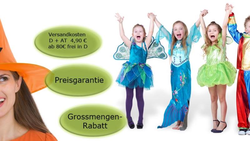 Faschingskostüme online von scherzwelt.de – die fünfte Jahreszeit hat begonnen, die Jecken und Narren sind schon unterwegs