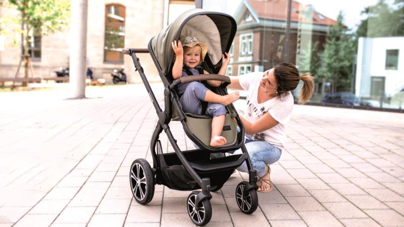 Kinderwagen FX4 Life: Der flexible Begleiter fürs Familienleben