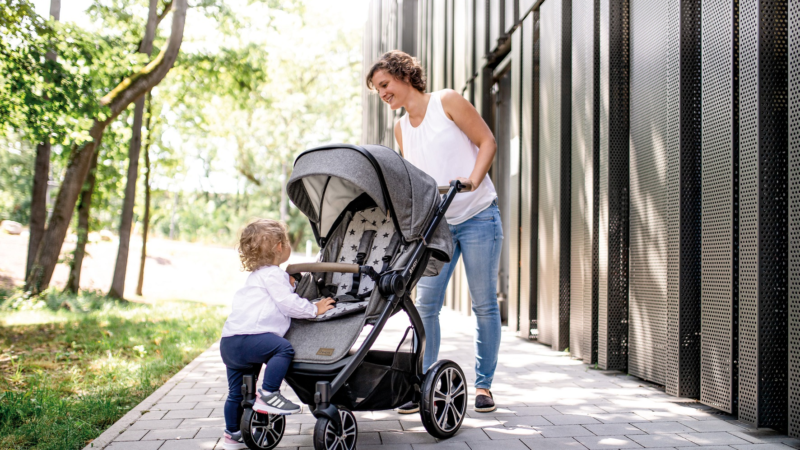 Kinderwagen INDY Sport: Optimale Belüftung und viel Kopffreiheit
