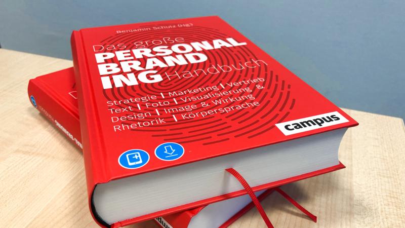 Das große Personal Branding Handbuch – jetzt erhältlich