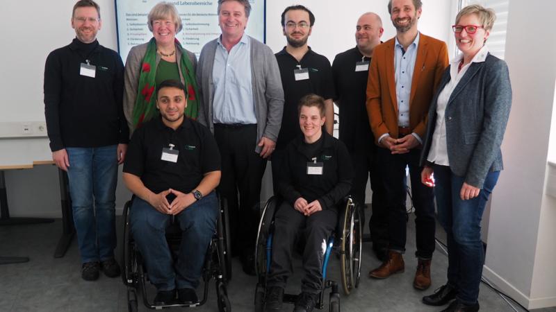 Menschen mit Behinderung messen Qualitaet sozialer Dienstleistungen