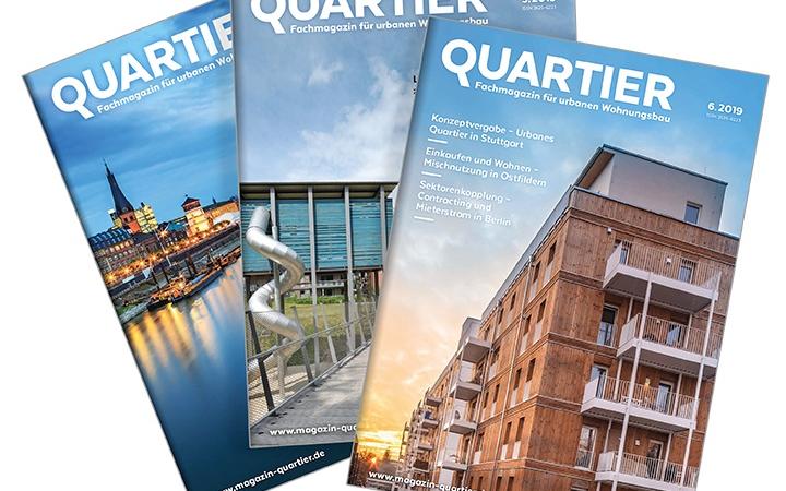 QUARTIER: Fachmagazin für eine zukunftsfähige Stadtentwicklung