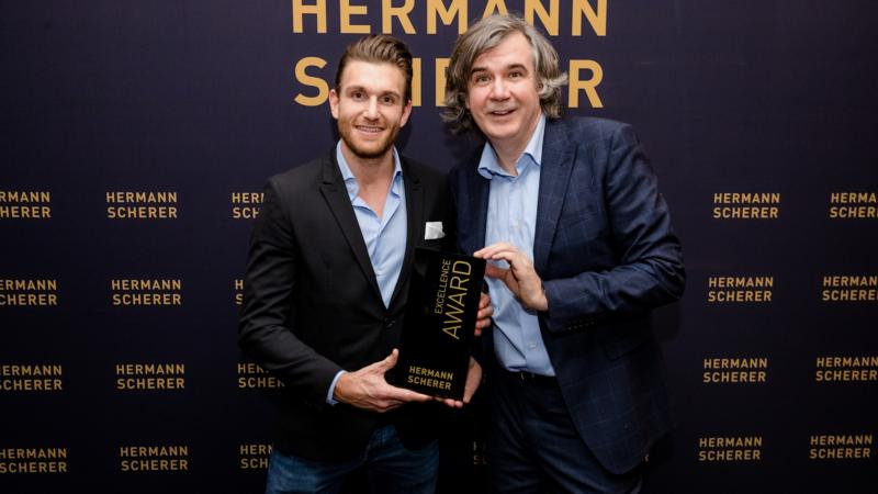 Weltrekord und Excellence Award für Christopher Nachtwey