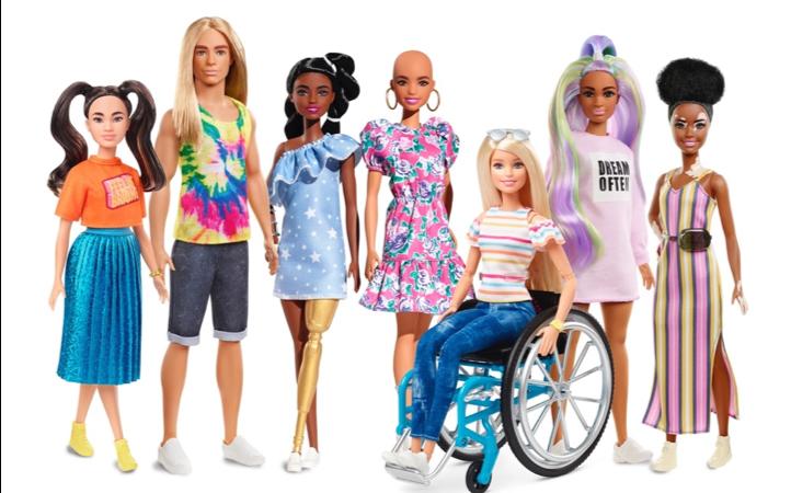 BARBIE® erweitert Fashionistas Puppenlinie