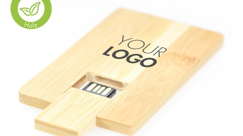 "MrDISC stellt vor: Echtholz USB-Stick ""ECO Wood Card"" von 1-32GB"