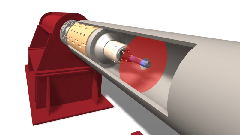 Laser technology facilitates pipe sizing