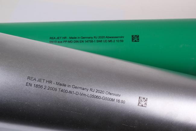 Rohre verlässlich und nachhaltig gekennzeichnet: REA JET auf der Tube 2020