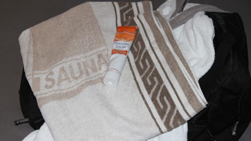 Sauna bei Fieber und Erkältung tabu