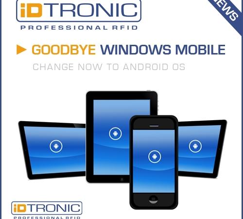 Goodbye Windows Mobile
