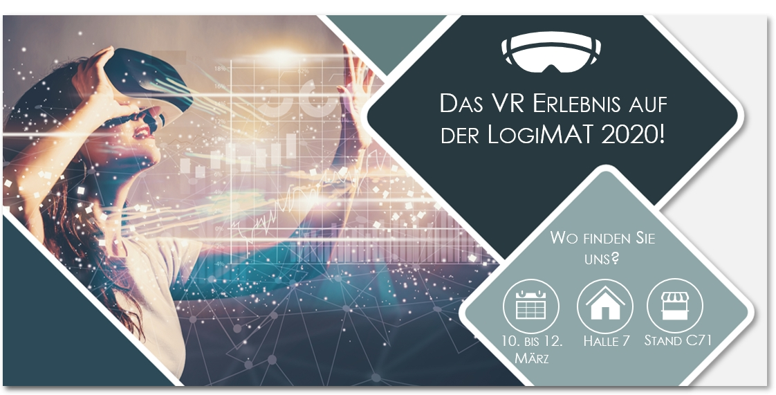 Virtual Reality in der Logistik – Einsatz und Potentiale