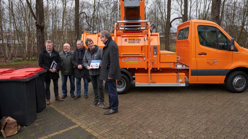 AGL übernimmt erstes vollelektrische Sammelfahrzeug