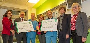 PSD Bank Hannover spendet 14.000 Euro an Stiftungen der Medizinischen Hochschule Hannover