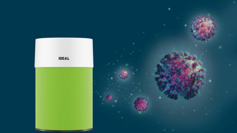 IDEAL Luftreiniger helfen im Kampf gegen das Coronavirus