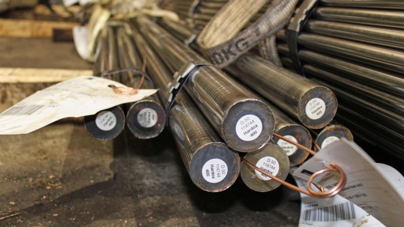 SSAB Hardox® Rundstahl als Maschinenstahl