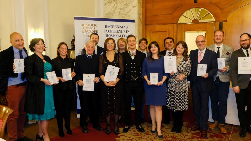 Die Gewinner der Historic Hotels of Europe Awards 2020