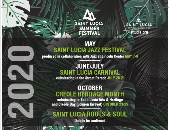 Saint Lucia Summer Festival 2020 – das größte Sommer-Festival in der Karibik