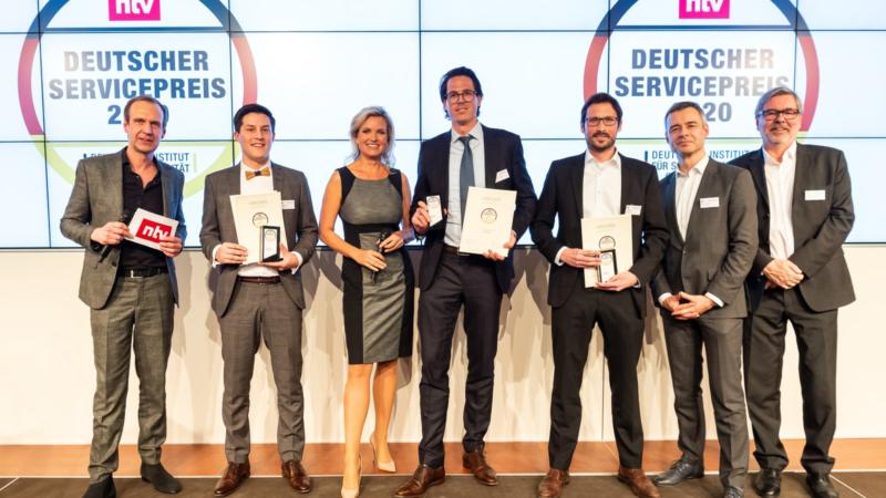 Knauber Erdgas erhält Deutschen Servicepreis 2020