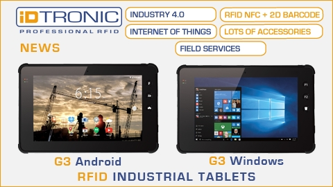 iDTRONICs G3 Industrial Tablet Serie