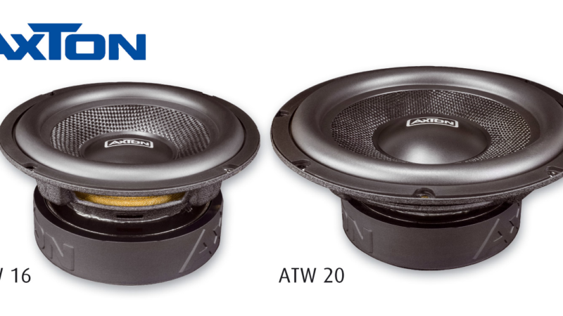 Quick Bass Upgrade: AXTON ATW16 and ATW20 Woofers