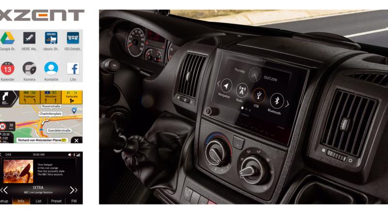 Alleskönner – XZENTs Infotainer X-F270 für FIAT Ducato