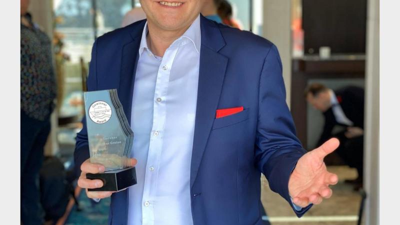 Christian Breitschwerdt aus Dinkelsbühl gewinnt den begehrten Publikumsaward als bester Speaker auf der vierten Speaker Cruise der Welt.