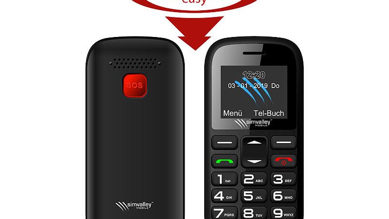 simvalley MOBILE Dual-SIM-Komfort-Handy XL-850.duo