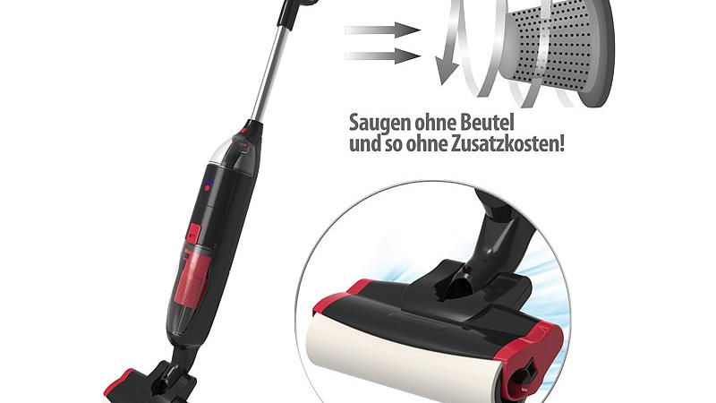 Sichler Akku-Boden-Wisch-Sauger BWS-200