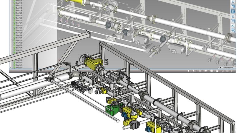 Neues Hüllgeometrie-Tool zur virtuellen Anlageplanung