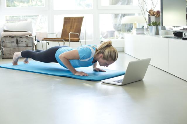 Zuhause fit bleiben – Verbraucherinformation der DKV