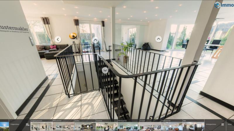 Hausbesichtigungen in Quarantäne-Zeiten: 360° macht es möglich