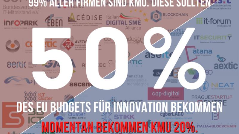 Im Angesicht der Corona Krise fordert der IT-Mittelstand eine 50% Mittelstandsquote im digitalen Innovationsbudget der EU