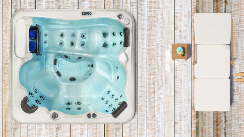 Artesian Whirlpools neues Modell: Tropic 745L Deluxe