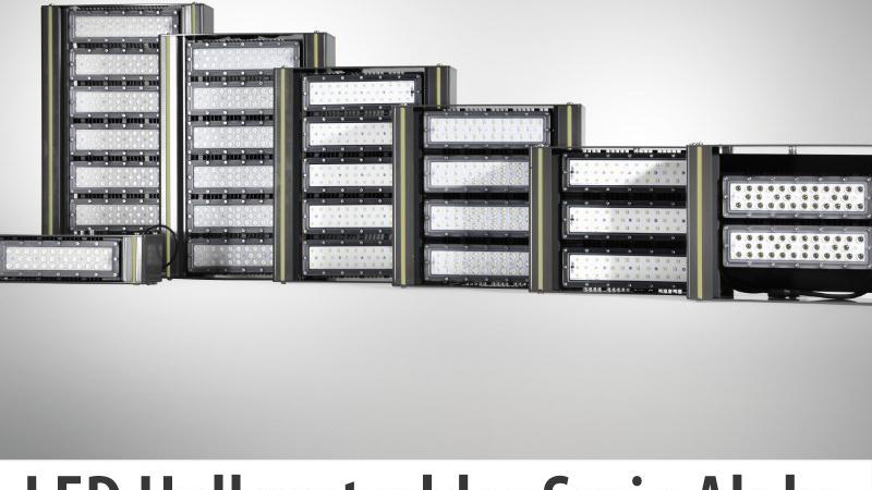 Innovation pur: der neue LED Hallenstrahler Alpha