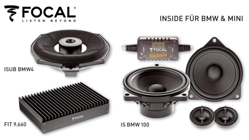 Einfach einzubauen – FOCALs Lautsprecher für BMW und Mini