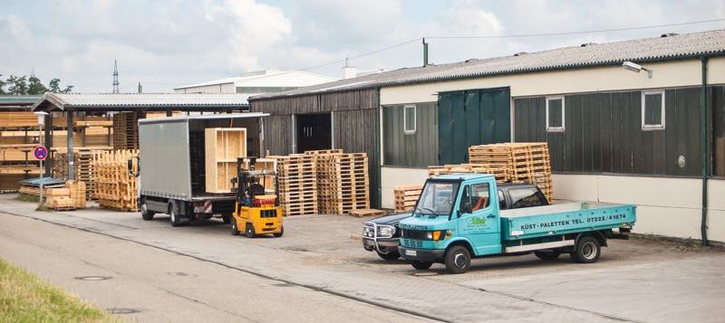 Paletten aus Holz – Potential für Unternehmen in Karlsruhe