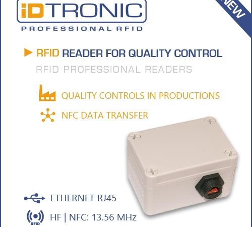 iDTRONICs neue Professional RFID Reader