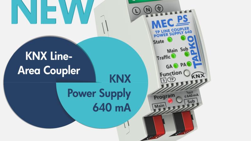 TAPKO Technologies: Revolutionary new KNX device MECps640