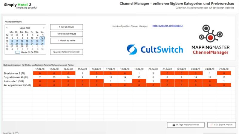 CultSwitch ist exklusiver Channel-Management-Partner für Simply Hotel 2
