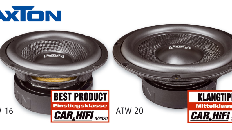 Nice sounding woofers at a nice price – AXTON ATW16 and ATW20