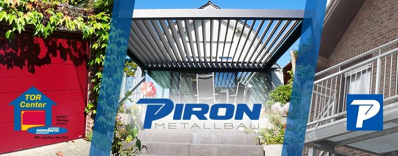 Piron Metallbau GmbH: Die Schlosserei in Kleve, Bedburg-Hau, Emmerich, Goch und Uedem.