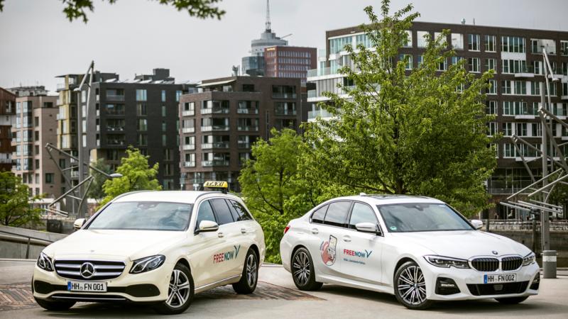 10.000 Mundschutzmasken für Taxi- und Mietwagenfahrer