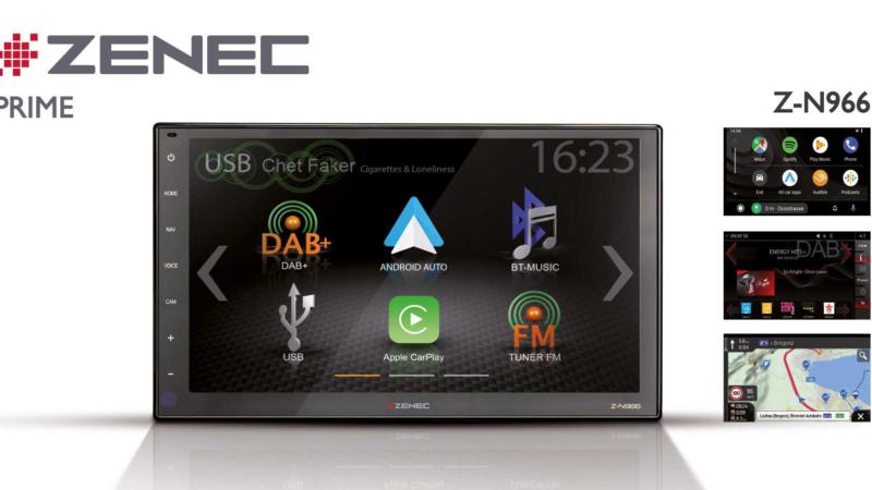 High Definition für unterwegs –  ZENECs Infotainer Z-N966