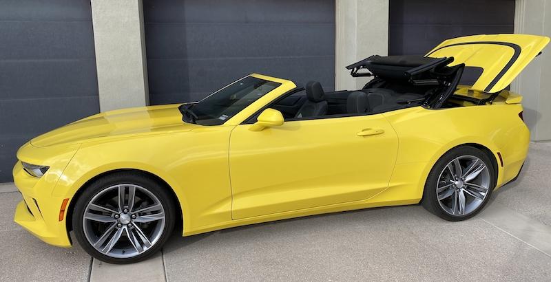 SmartTOP Zusatz-Verdecksteuerung für Chevrolet Camaro Cabriolet jetzt erhältlich