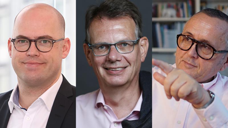 Drei Interim Manager bündeln ihre Kräfte in der Krise