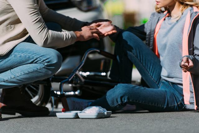 Was tun nach einem Fahrradunfall? – Verbraucherfrage der Woche der ERGO Versicherung