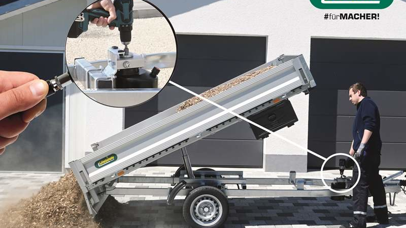 "UNSINN stattet Kipper serienmäßig mit neuer Hydraulik-Pumpe ""Pumpless"" aus"