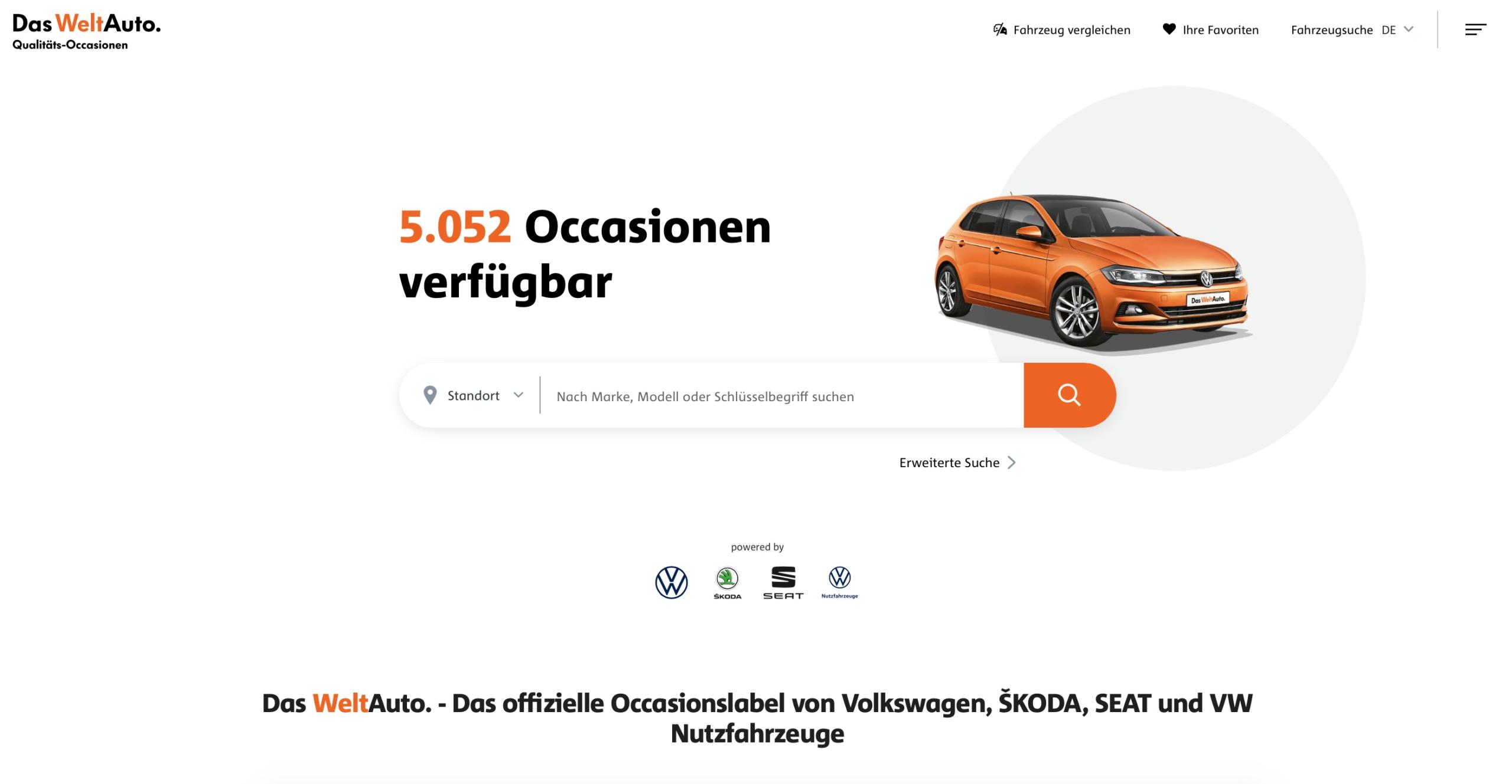 Das WeltAuto zeigt neuen Markenauftritt