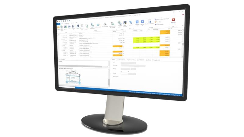 Software konvertiert Excel-Daten ins GAEB-Format