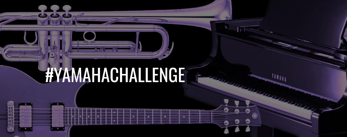 Die #YamahaChallenge: diese Online-Initiative inspiriert Musiker weltweit