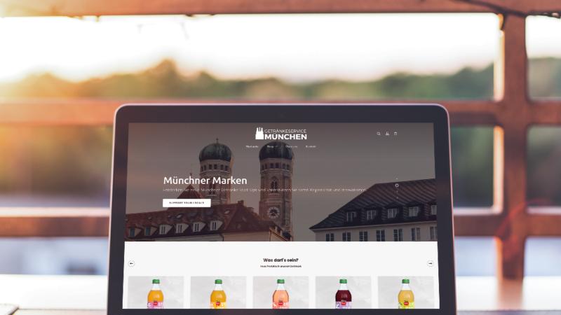 Code in Flaschen: Getränkeservice München lässt seinen Online-Shop von STEINBERGER Innovation generalüberholen